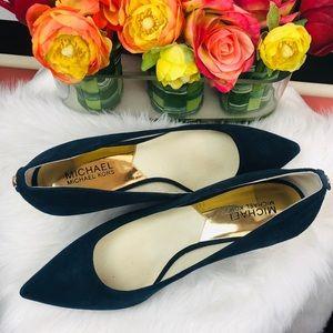 Michael Kors | pointy toe suede shoes sz 8M